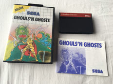Sega Ghouls'n Ghosts 1990 - boxed