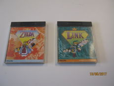 Rare: 2 zelda games forr an CDI. complete in the box. The wand of gameleon+The faces of evil.