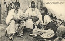 Morocco-North Africa 105x-Mostly Types and street scenes from various places-1900/1930