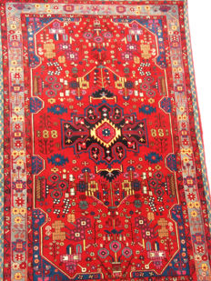 """Wonderful Nahavand rug – Quality """"extra"""" – New and in perfect condition – 235 x 148 cm – End of the 20th century"""