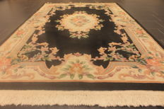 Magnificent China Art Deco Aubusson carpet, oriental carpet, made in China, 155 x 240 cm