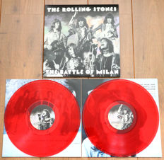 The Rolling Stones ‎– The Battle Of Milan 2lp/ Limited, numbered edition of 500 copies worldwide on red wax/ Nr. 372/500/ NEAR MINT