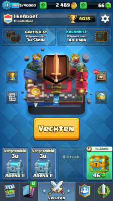 Clash royale account (very high!)