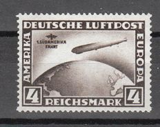 German Empire/Reich 1930 - air mail stamp Graf Zeppelin South America journey - Michel 439