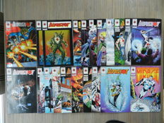 Bloodshot Vol.1 # 0-18 + Dr Mirage Vol.1 # 1-8 + Solar Vol.1 # 1-33 + Punx # 1-3 + 7 specials - 70x sc - (1991 / 1996)