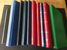 World 1860/1980 – Batch of Various Countries in Ten Stock Books + Davo LX with Collection Aruba