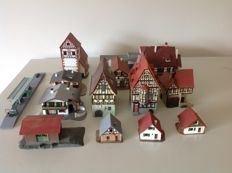 Vollmer/Kibri  N - 13 buildings Timber-framed buildings and others