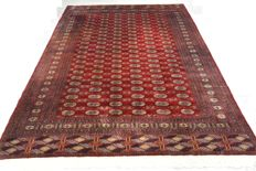 High-quality oriental carpet, Pakistan/Bochara, 281 x 197 cm End of the 20th century