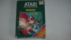 Atari Comic Book game Berzerk Sealed. Rare. Sealed.