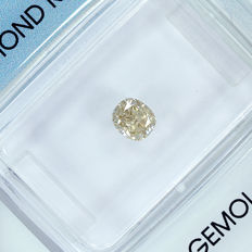 Diamond – 0.41 ct P-Q Very light Brownish Yellow