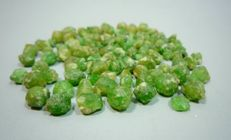 Rare Green Garnet Crystals Lot - 36 Grams