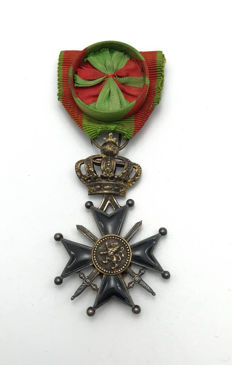 WW1 - Military Officer's Decoration Cross 1st Class - Belgium