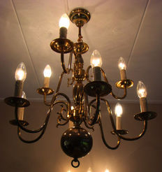 French chandelier including a wall chandelier