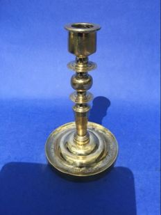 A beautiful bronze candlestick Spain or southern Netherlands-2nd half 17th century