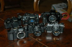 Lot of 6 cameras to be tested