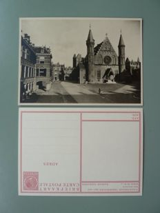 The Netherlands 1937 – Postal stationaries, incl. a complete series of cityscapes and townscapes