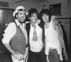 Chuck Pulin/Richard Wooton - Keith Richards/Aretha Franklin and Bob Dylan - 1978/83