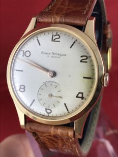 Girard-Perregaux – 18 kt gold – 36 mm – men's – from the '60s