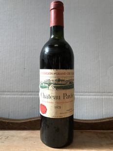 1978 Château Pavie 1er Grand Cru Classé A Saint-Émilion – 1 bottle