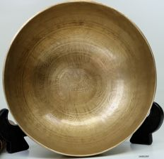 Hand-hammered singing bowl - Tibet - second half of the 20th century