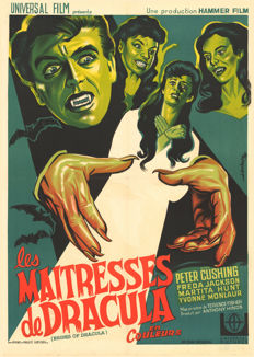 Koutachy - Les Maitresses de Dracula (Brides of Dracula, Peter Cushing) - 1960