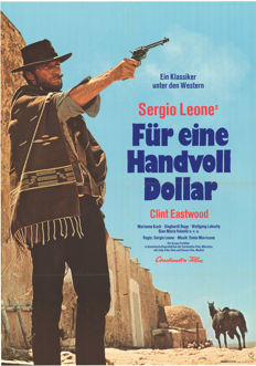 Sergio Leone - Für eine Handvoll Dollar (Fistful of Dollars, Clint Eastwood) - 1960s