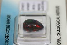Black Opal - 2.59 ct - no reserve price