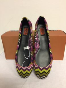 Missoni – ballerinas with zigzag pattern
