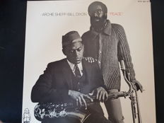Various Jazz items with very special DUO:  Archie Shepp / Bill Dixon
