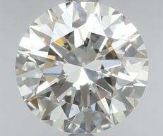 1.04ct Round Brilliant Diamond G IF  IGI -ORIGINAL IMAGE-3EX #VE6