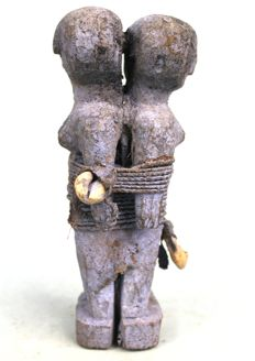 Fine Double Fetish- FON - Benin