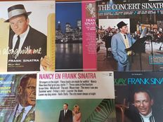 Various Franky Sinatra Jazz Items (also an unique colour photo).