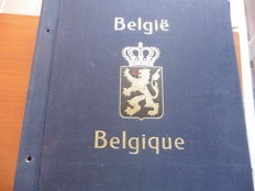 Belgium 1849–1968 – Collection in Davo album