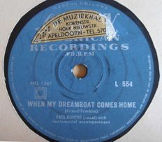 """78 rpm """"HITS FROM THE FIFTIES""""  including Fats Domino / Bill Haley / Frank Sinatra / Harry Belafonte / The Diamonds / Pat Boone / Slim Whitman and many others."""