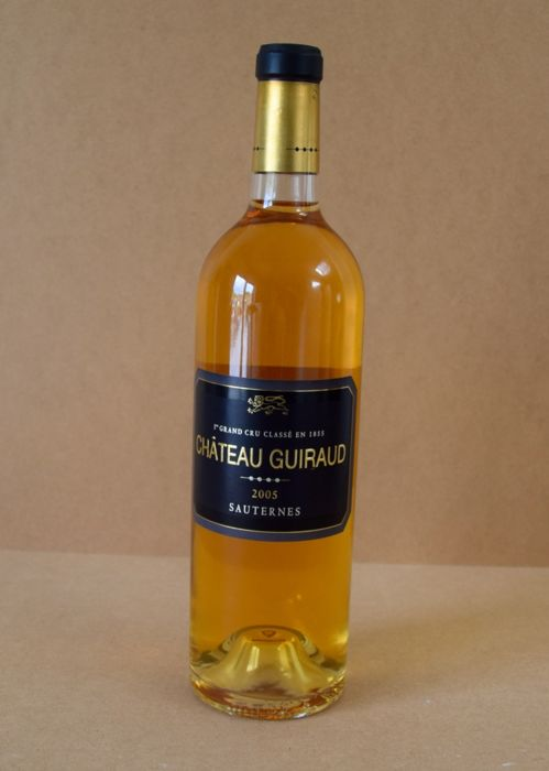 2002 Chateau de Fargues & 2005 Chateau Guiraud - 2 bottles (75cl)