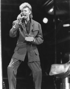 Steve Granitz/Herman Selleslags - David Bowie - 1987