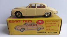 Dinky Toys - Scale 1/43 - Jaguar 3.4 Saloon 1965 - No.195