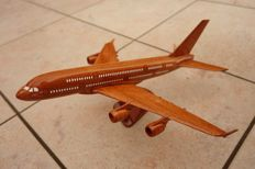 Model plane made from precious wood AIRBUS A380