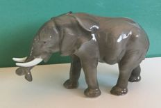 Karl Ens - early figurine of an elephant.