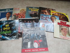 Pop / Beat Various Artists from the fifties and early sixties lot of ten (10) LP's
