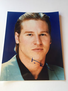 Val Kilmer - Signed 20x25 cm Photo - With Certificate of Authenticity