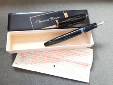 Monte Rosa/Montblanc fountain pen - box and papers