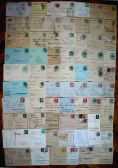 Germany - Old states, Reich, Occupation a collection of postcards and stationery
