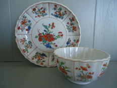 Cup and saucer - China - early 18th century (Kangxi period)