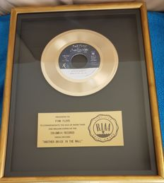 Pink Floyd - Another Brick in the Wall (part II) Official RIAA Award Presented to Pink Floyd