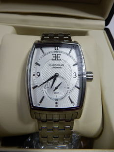 Thomas Earnshaw ES-8009-22 Robinson Stainless Steel Watch with Bracelet