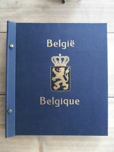 Belgium 1849/1949 - Collection in Davo album with back of the book