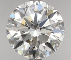 1.05ct Round Brilliant Diamond E IF  IGI -ORIGINAL IMAGE-3EX #VE5