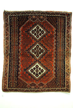 Afshar – nomadic rug from Iran, around 1930