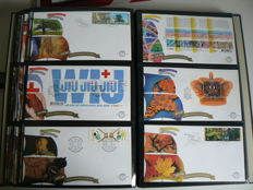 The Netherlands, 2004-2010 - collection of FDCs, including six complete years